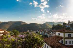 Antique houses in Ouro Preto in Minas Gerais. - Brésil-Cosmic Travel