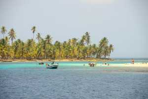 One of the 365 San Blas Islands. - Panama-Cosmic Travel