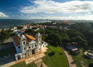 Aerial view of Olinda, with in the back Refice - Brésil-Cosmic Travel