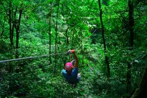 Canopy Adventure is located in a beautiful valley (El Valle) not far from Panama City. - Panama-Cosmic Travel