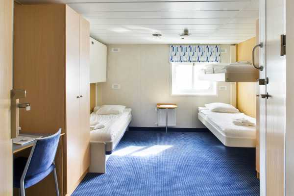 Twin Cabin - Ocean Nova - Antarctica - Cosmic Travel